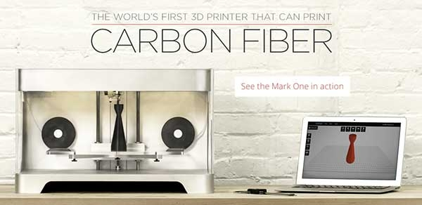 The world's first Carbon Fiber 3D Printer