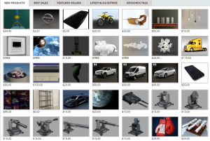 Buy 3D Models and Sell 3D Models, Textures, 3D Prints, Game-Ready at 3DExport.com