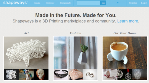 Shapeways - Design, buy, and sell products with 3D Printing