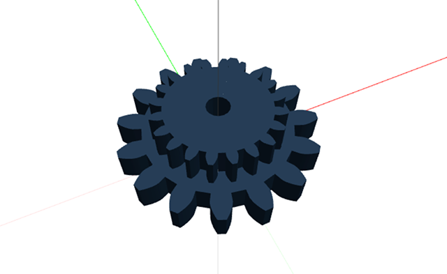 Gear Model For 3D Printer